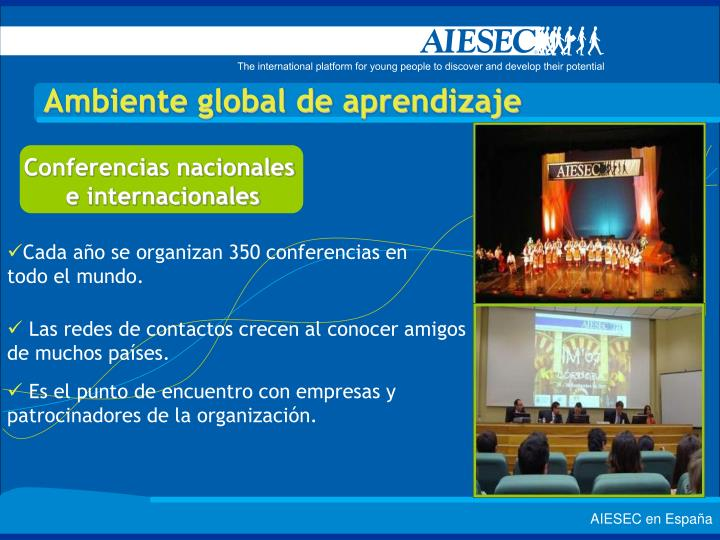 Conferencias nacionales