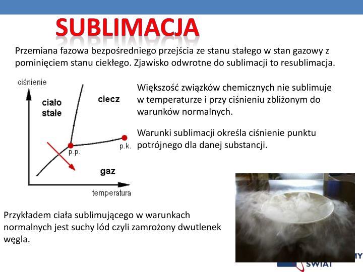 Sublimacja