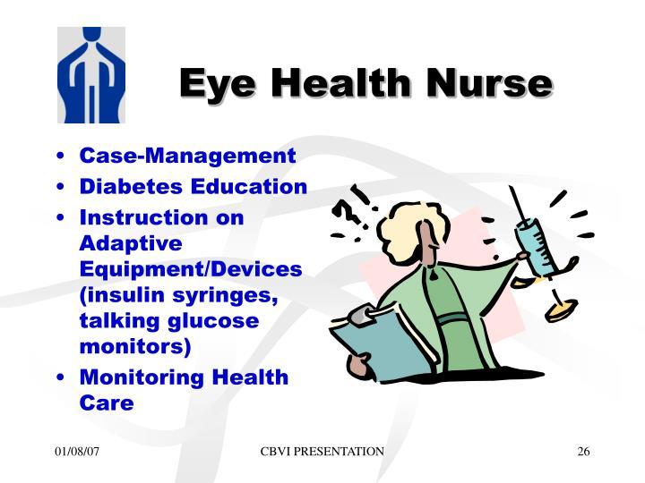 Eye Health Nurse