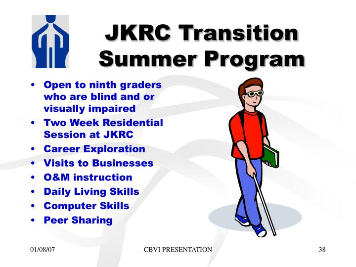 JKRC Transition Summer Program