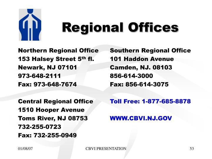 Northern Regional Office