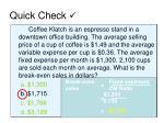 quick check21