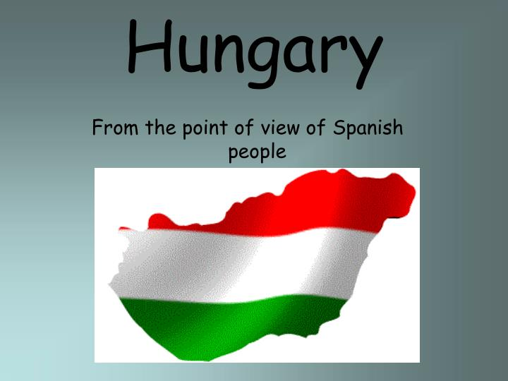 From the point of view of Spanish