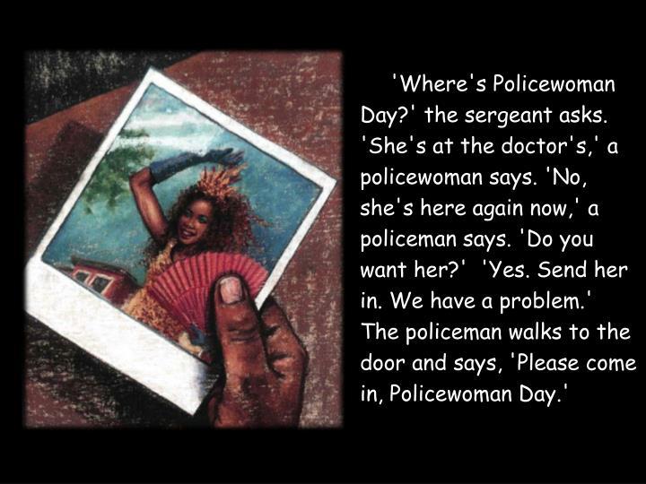 'Where's Policewoman