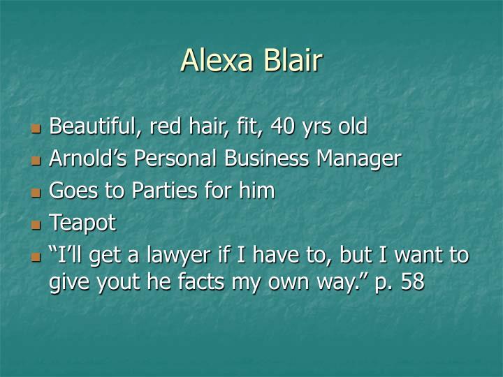 Alexa Blair