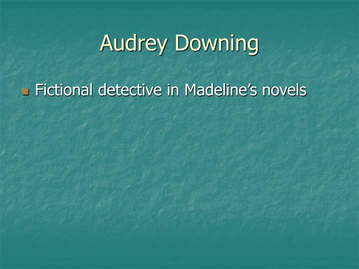 Audrey Downing