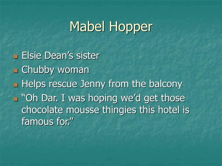 Mabel Hopper