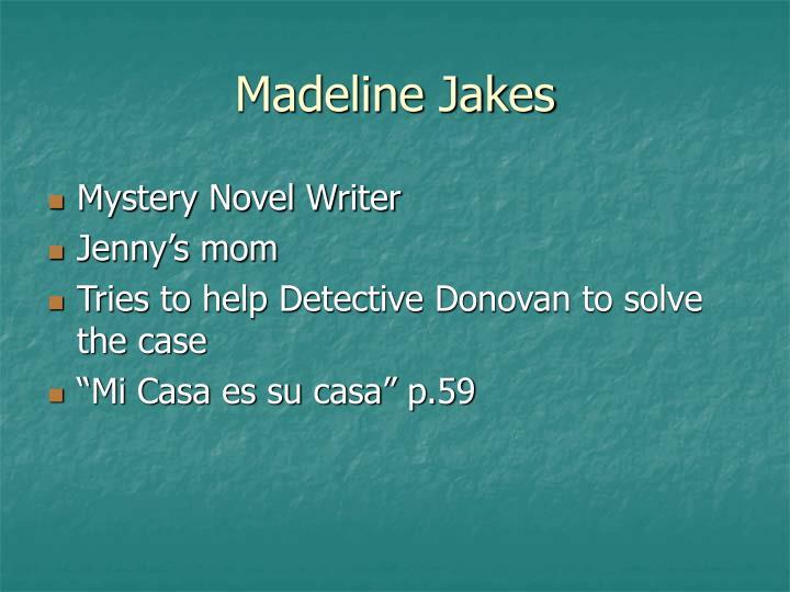Madeline Jakes