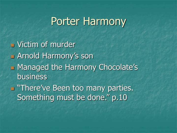 Porter Harmony