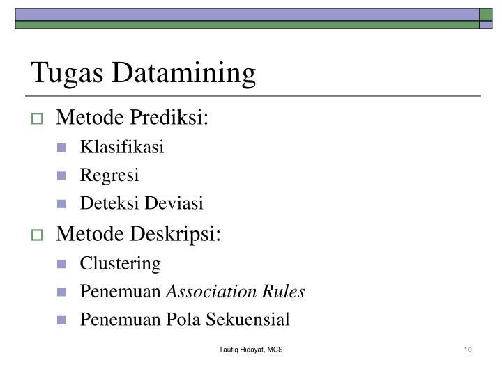 Tugas Datamining