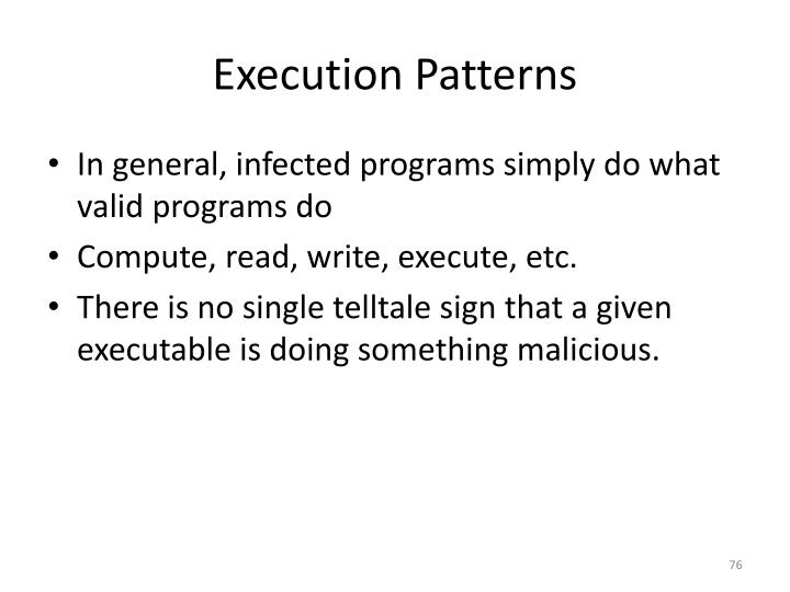 Execution Patterns
