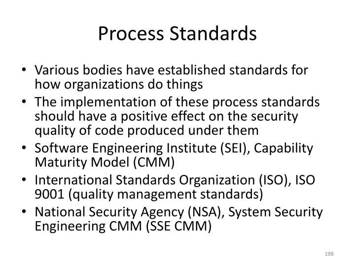 Process Standards
