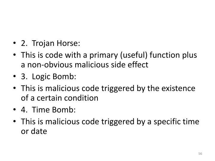 2.  Trojan Horse: