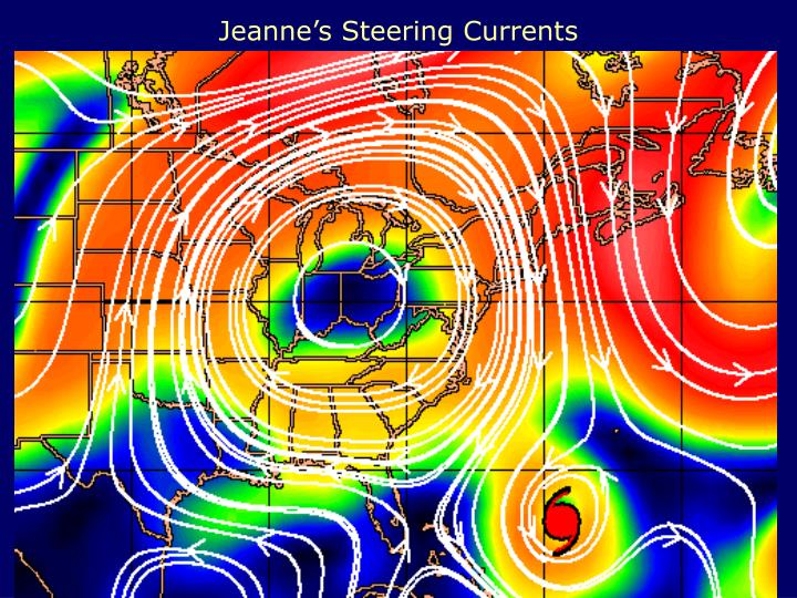 Jeanne's Steering Currents