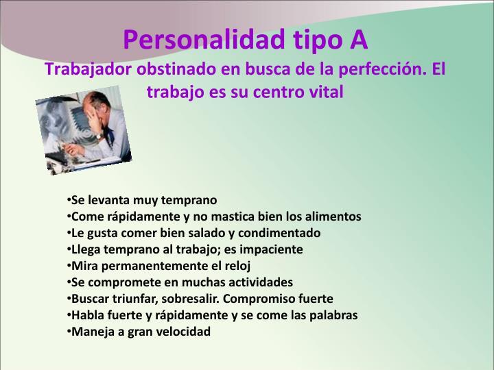 Personalidad tipo A