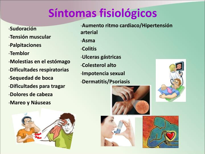 Síntomas fisiológicos