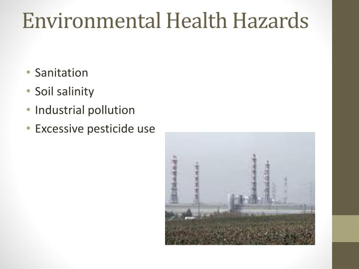 Environmental Health Hazards