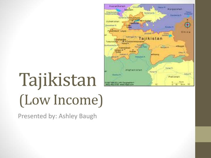 Tajikistan low income