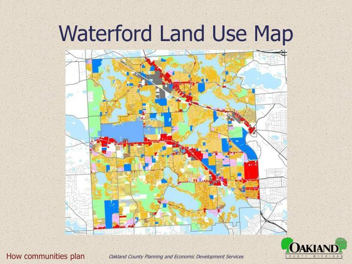 Waterford Land Use Map
