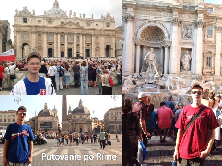 Putovanie po Ríme