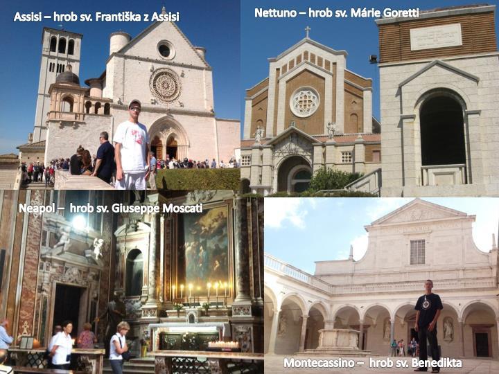 Nettuno – hrob sv. Márie Goretti