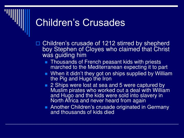 Children's Crusades