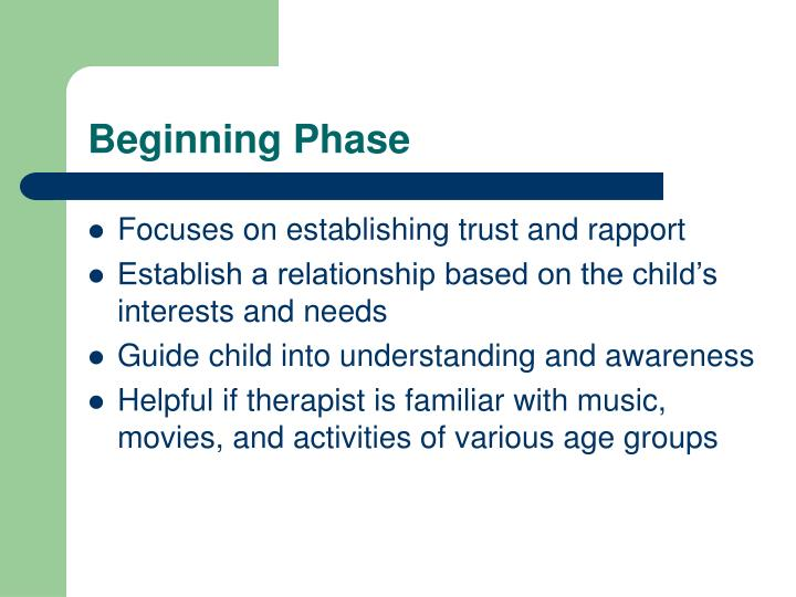 Beginning Phase