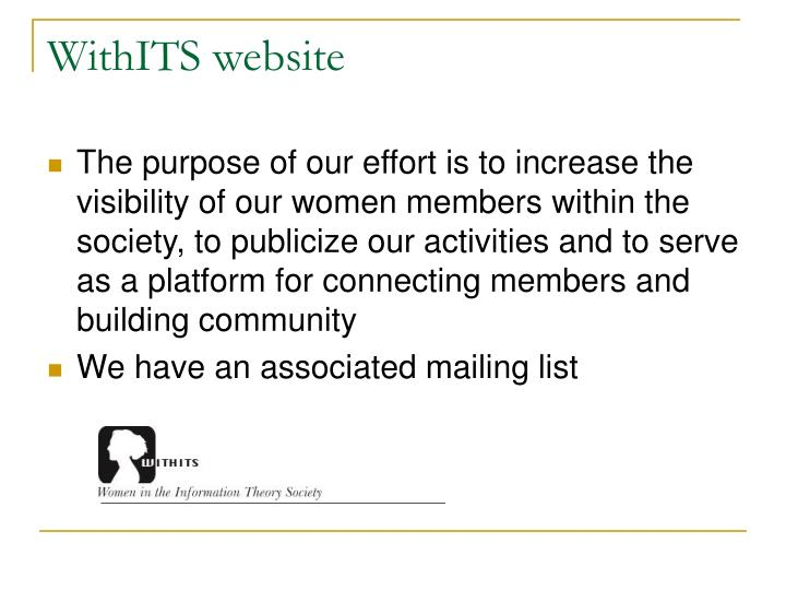 WithITS website