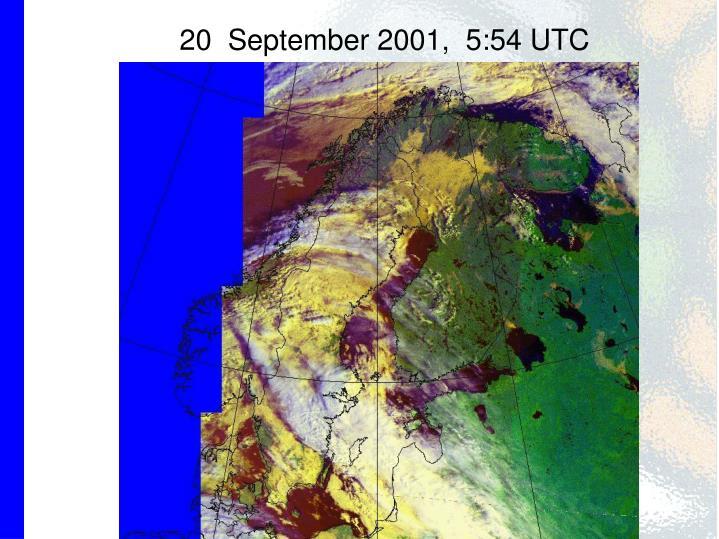 20  September 2001,  5:54 UTC