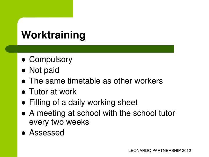 Worktraining