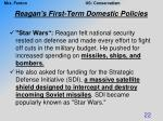 reagan s first term domestic policies4
