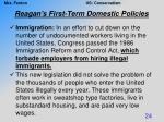 reagan s first term domestic policies6