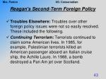 reagan s second term foreign policy7