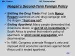 reagan s second term foreign policy8