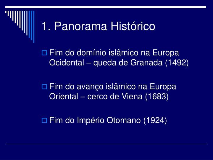1. Panorama Histórico