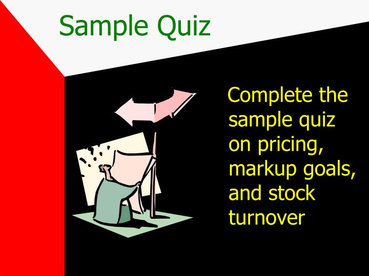 Sample Quiz
