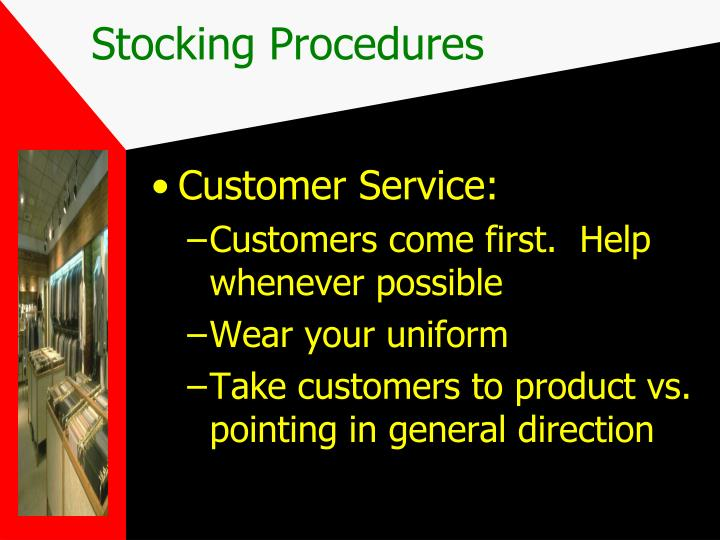 Customer Service: