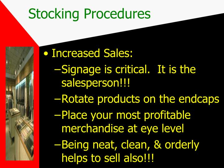 Increased Sales: