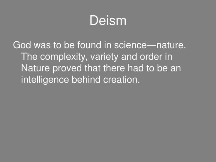 Deism