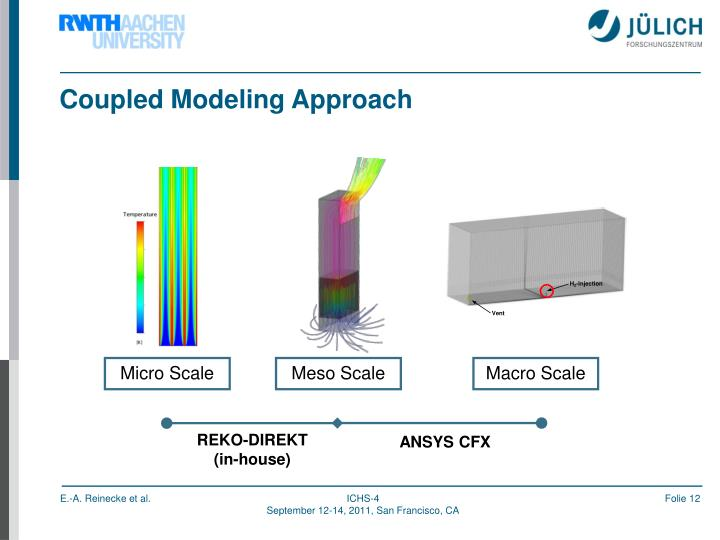 Coupled Modeling Approach