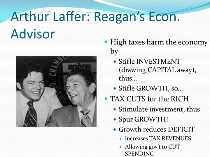 Arthur Laffer: Reagan's Econ. Advisor