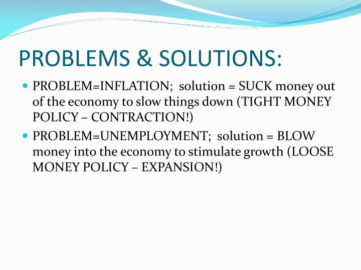 PROBLEMS & SOLUTIONS: