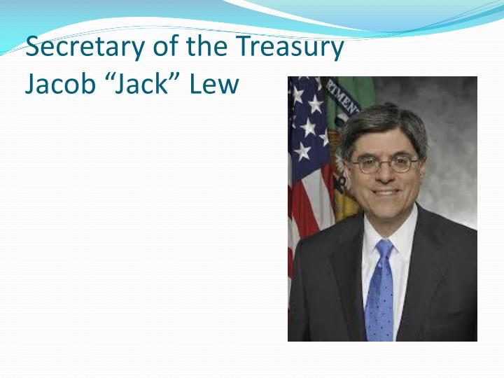 Secretary of the Treasury