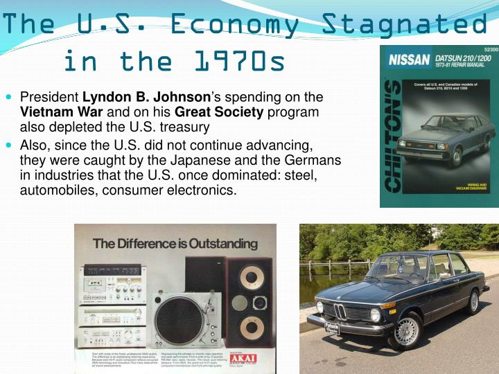 The U.S. Economy Stagnated in the 1970s
