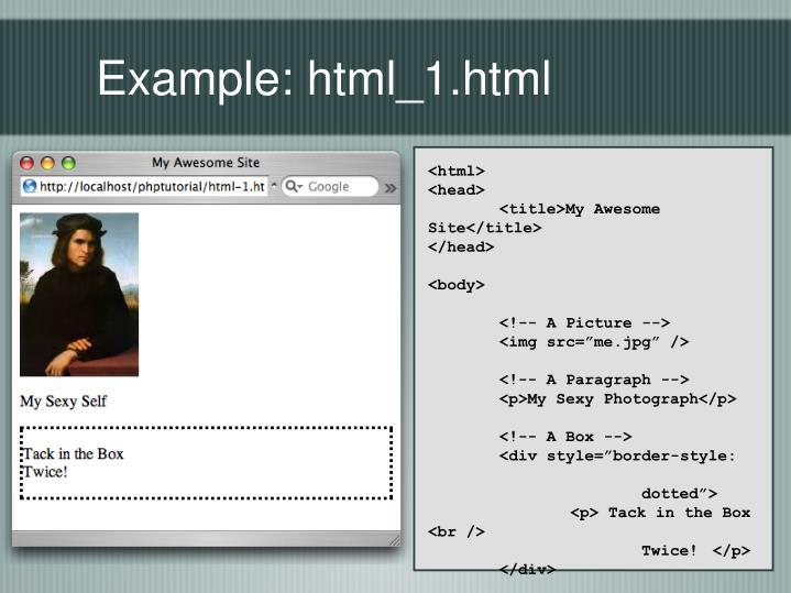 Example: html_1.html