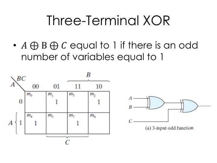 Three-Terminal XOR