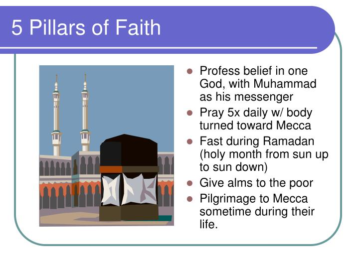 5 Pillars of Faith