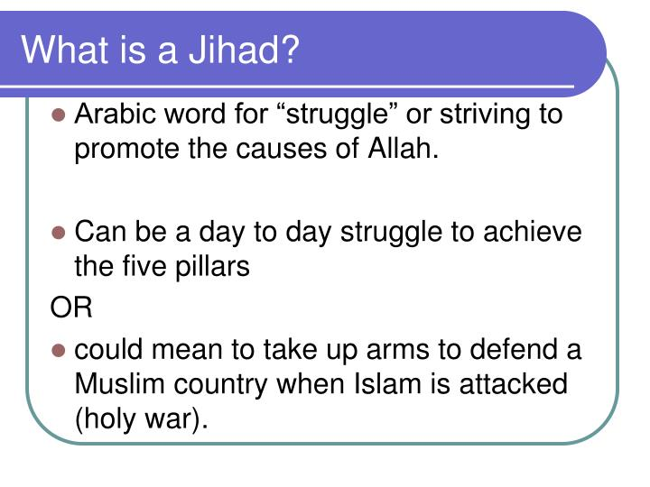What is a Jihad?