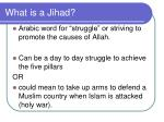 what is a jihad