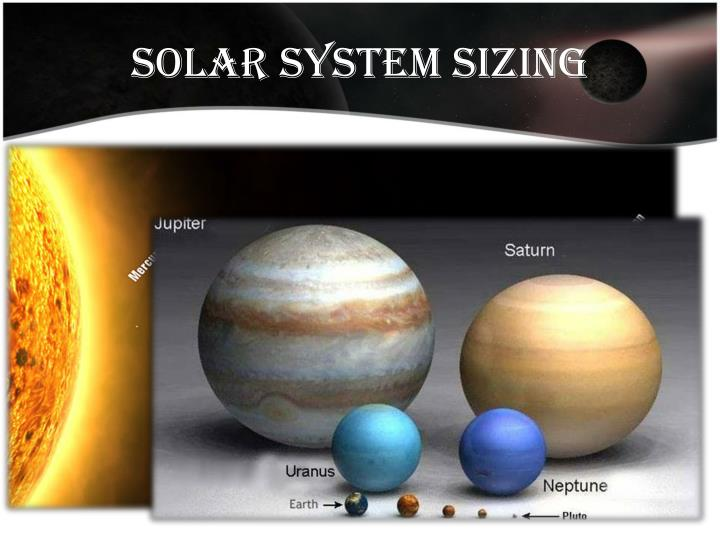 Solar system sizing
